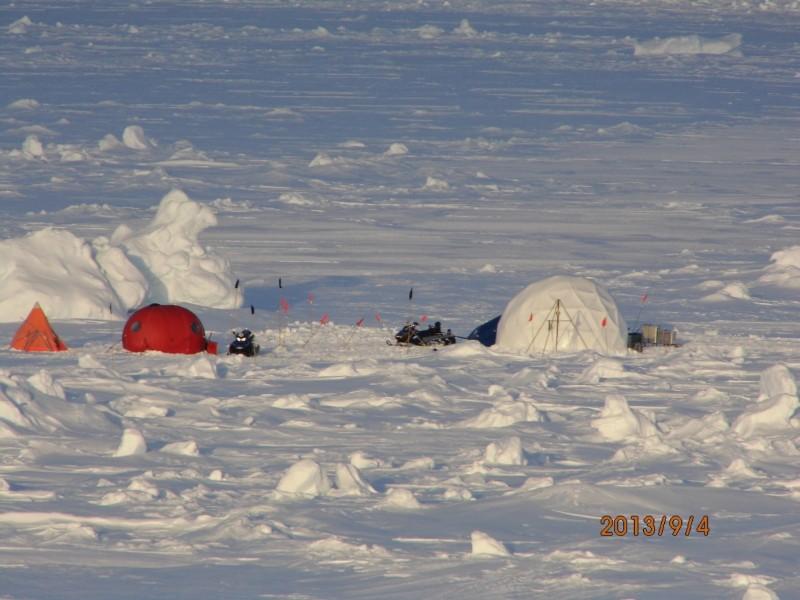 Das Eiscamp