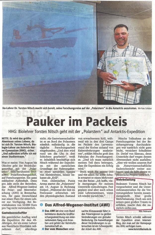 RuhrNachrichten 07.06.2013